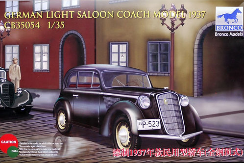 Bronco - 1937 Opel Olympia Light Saloon 1/35