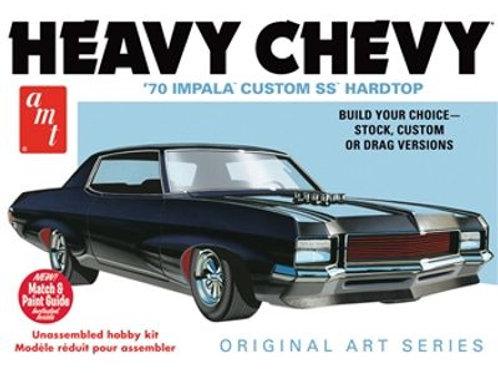 AMT - Heavy Chevy '70 Impala Custom SS Hardtop