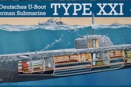 Revell - German Submarine Type XXI U 2540 1/144