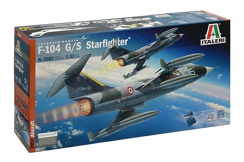 Italeri - Lockheed Martin F-104 G/S Starfighter