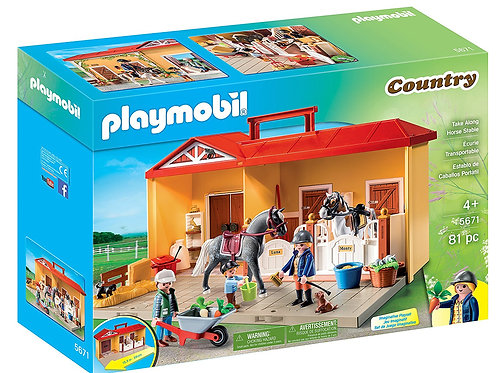 Playmobil 5671 Country - Take Along Horse Stable