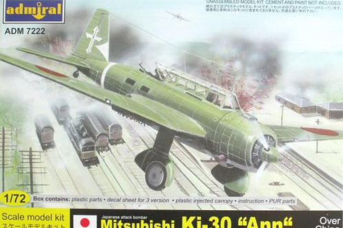 Admiral - Mitsubishi Ki-30 'Ann' over China 1/72