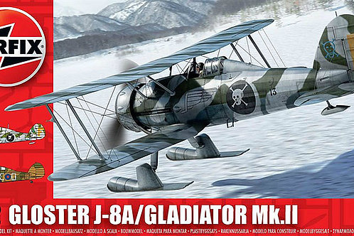 Airfix - Gloster J-8A/Gladiator Mk.II 1/72