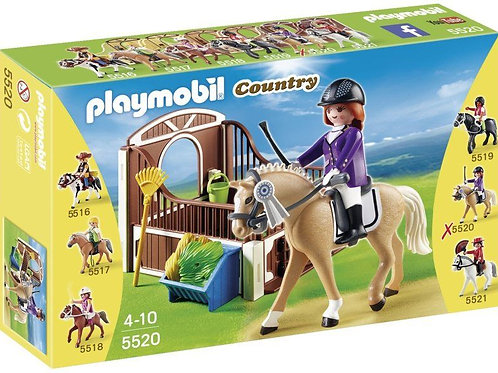 Playmobil 5520 Country - Show Horse with Stall