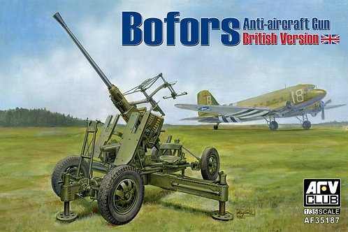 AFV Club - Anti-Aircraft Gun Bofors - British Vers