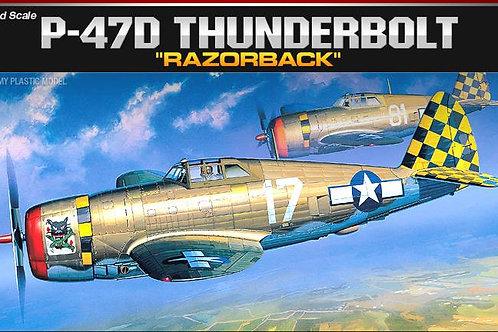 Academy - Republic P-47D Thunderbolt 1/72
