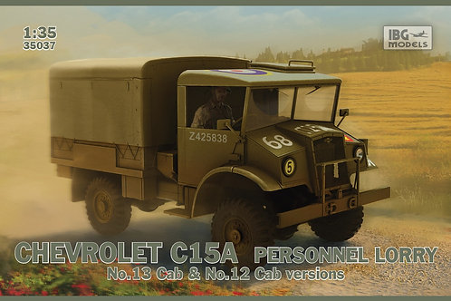 IBG Models - Chevrolet C15A Personnel Lorry 1/35
