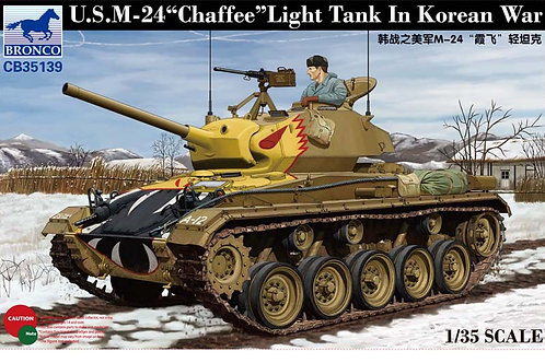 Bronco - M24 Chaffee Light Tank in Korean War 1/35
