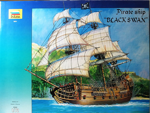Zvezda - Pirate Ship Black Swan 1/72
