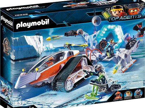 Playmobil 70230 Top Agents - Spy Team Kommandoschlitten