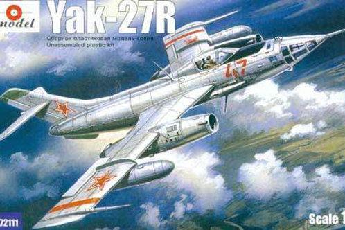 Amodel - Yak-27R Soviet Interceptor 1/72