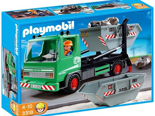 Playmobil 3318 City Action - Skip Truck