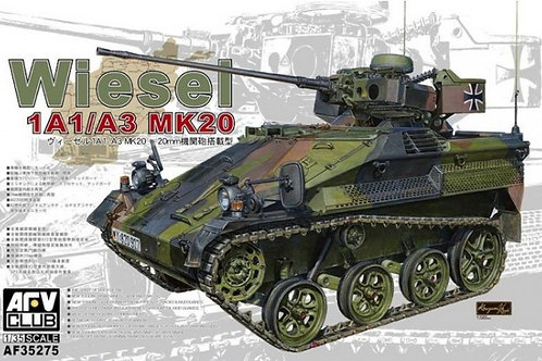 AFV Club - German Wiesel 1A1/A3 Mk.20 1/35