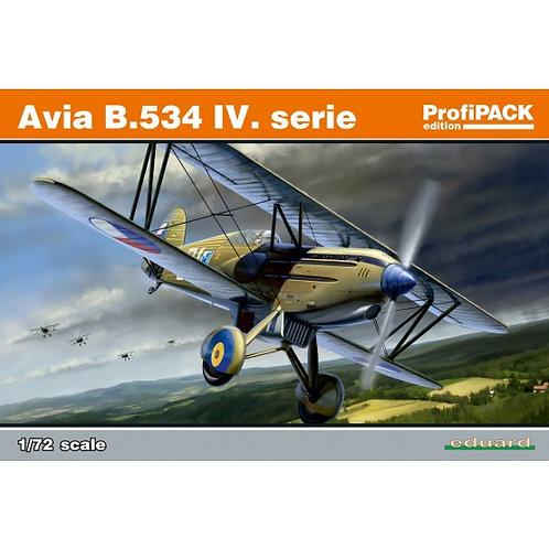 Eduard - Avia B.534 IV. serie 1/72