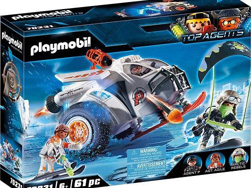 Playmobil 70231 Top Agents - Spy Team Schneegleiter