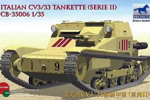 Bronco - CV3/33 Tankette Serie II 1/35