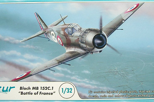 Azur - Bloch MB 152C.1 Battle of France 1/32