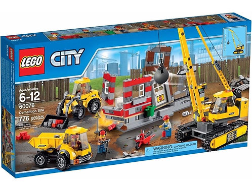 Lego 60076 City - Demolition Site