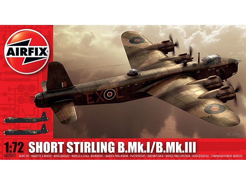 Airfix - Short Stirling B.Mk.I/B.Mk.III 1/72