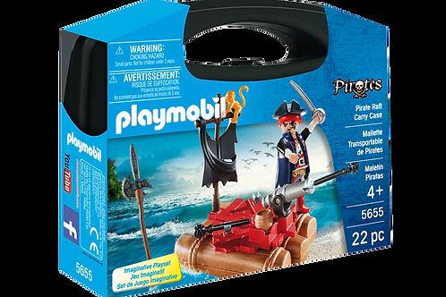Playmobil 5655 Pirates - Pirate Raft Carry Case