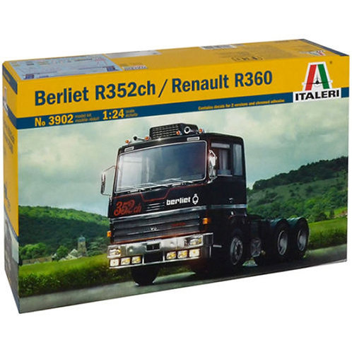 Italeri - Berliet R35ch/Renault R360 1/24