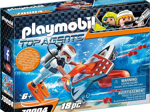 Playmobil 70004 Top Agents - Spy Team Sub Bot