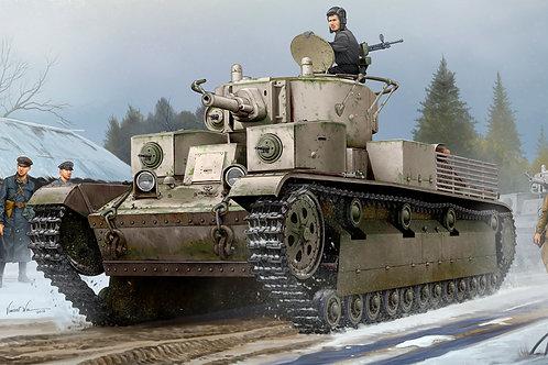 Hobby Boss - Soviet T-28 Medium Tank (Riveted)