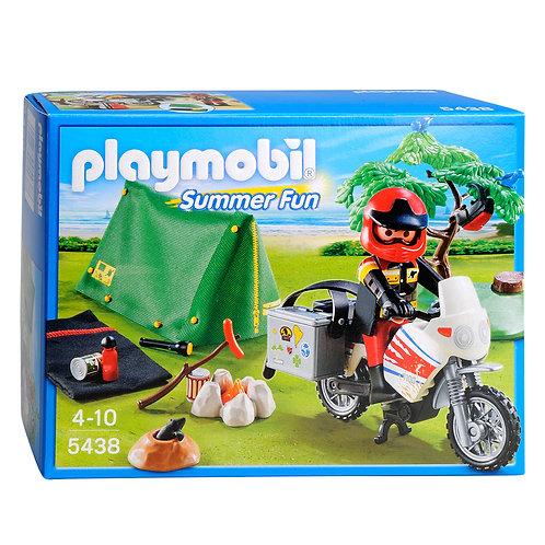 Playmobil 5438 - Biker at Campsite