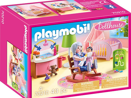 Playmobil 70210 Dollhouse - Nursery