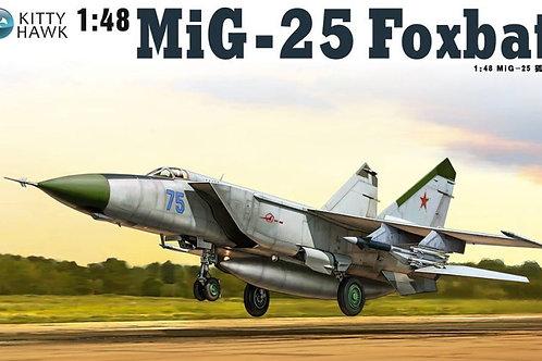 Kitty Hawk - MiG-25PD/PDS Foxbat 1/48