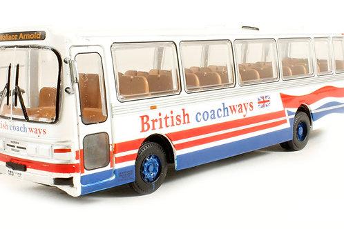 Base Toys - Leyland Leopard Duple Dominant II 'British Coachways' 1/76