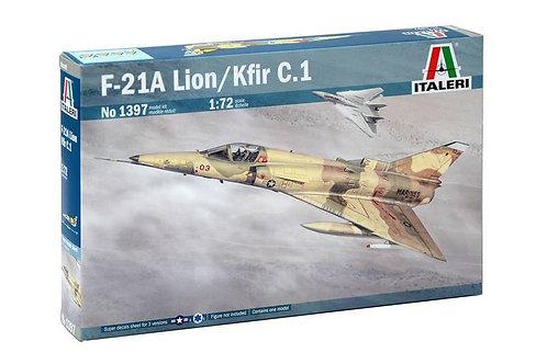Italeri - F-21A Lion/Kfir C.1 1/72