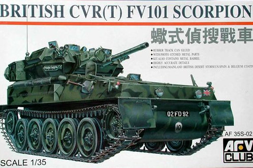 AFV Club - British CVR(T) FV101 Scorpion 1/35