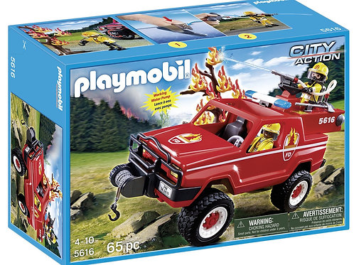 Playmobil 5616 City Action - Forest Fire Terrain Truck