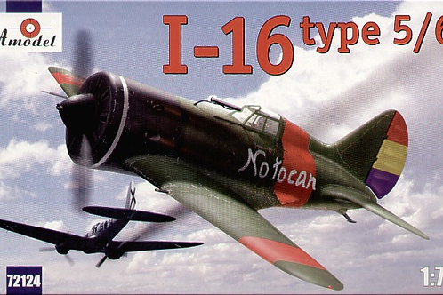 Amodel - Soviet Polikarpov I-16 Type 5/6 1/72