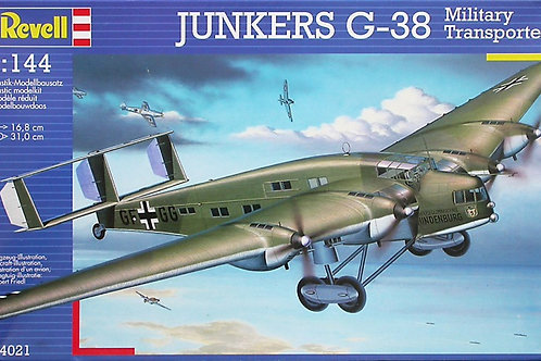 Revell - German Military Junkers G-38 1/144