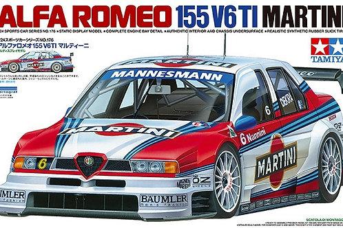 Tamiya - Alfa Romeo 155 V6 TI Martini 1/24