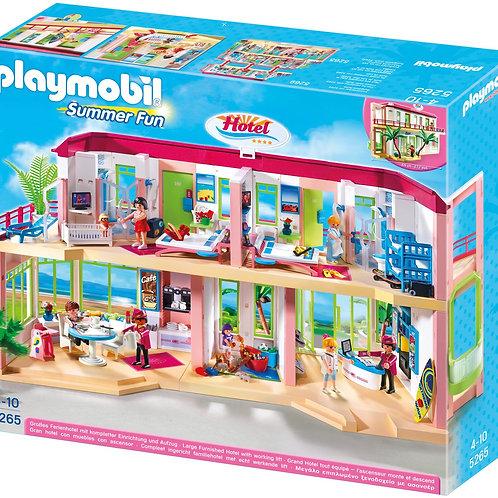 Playmobil 5265 Summer Fun - Large Furnished Hotel