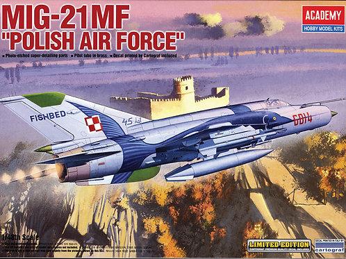 Academy - MiG-21MF Polish Air Force 1/48