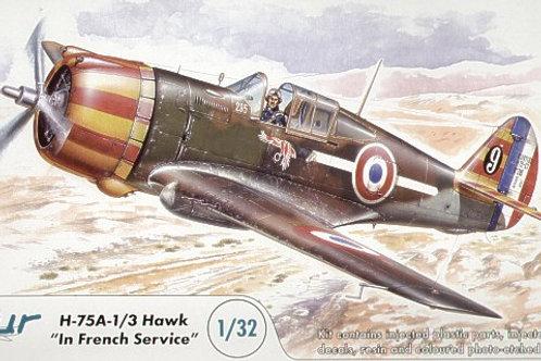 Azur - Curtiss H-75A-1/3 Hawk French Service 1/32