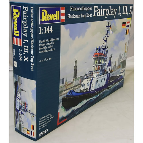 Revell - Harbour Tug Boat Fairplay I, III, X 1/144