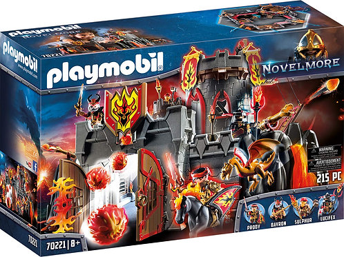Playmobil 70221 Novelmore - Burnham Raiders' Fortress