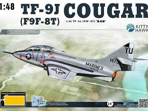 Kitty Hawk - TF-9J (F9F-8T) Cougar 1/48