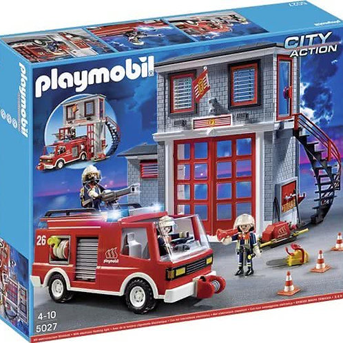 Playmobil 5027 - Fire Station and Truck