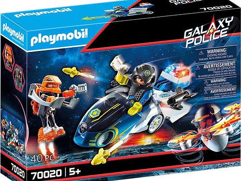 Playmobil 70020 Galaxy Police - Police Bike