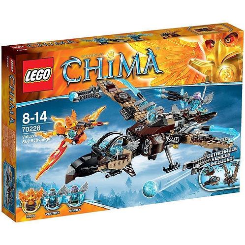 Lego 70228 Legends of Chima - Vultrix's Sky Scavenger