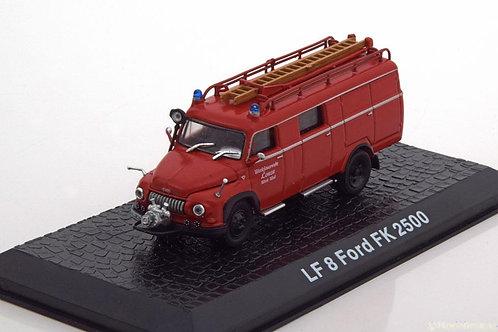 Altaya - LF 8 Ford FK 2500 Lonza Fire Dept. 1/72