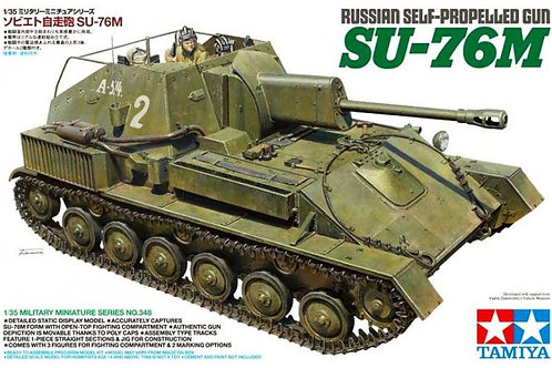 Tamiya - Russian Self-Propelled Gun SU-76M 1/35