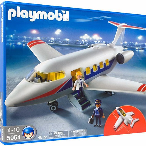 Playmobil 5954 - Leisure Jet with Crew