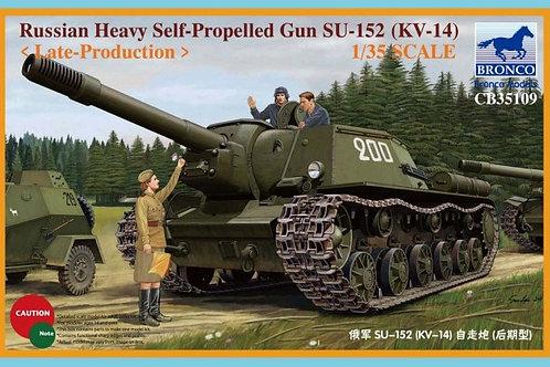 Bronco - Su-152 (KV-14) Late Production 1/35